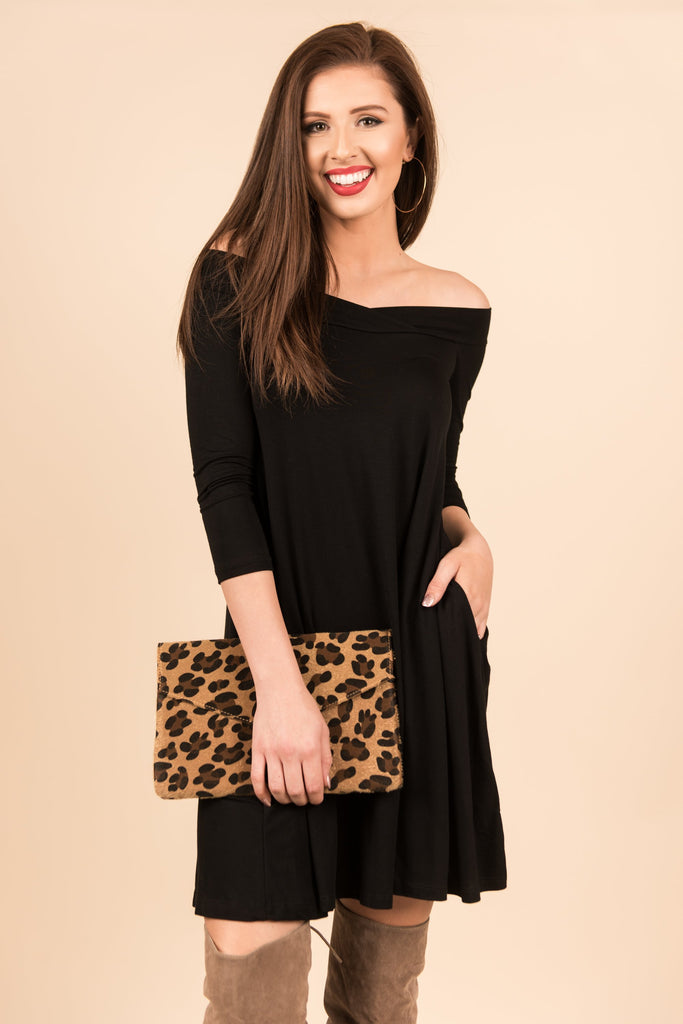 Going Out Dress, Black