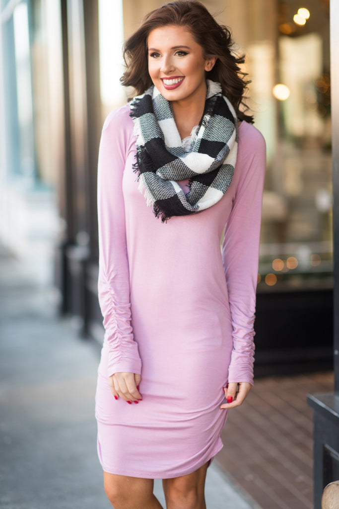 Fit To Be Fabulous Dress, Mauve
