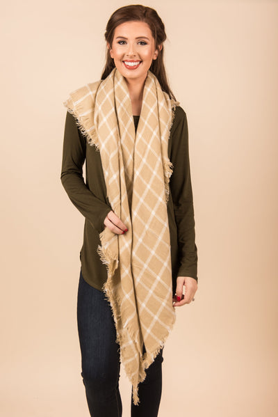 Simple Pleasures Scarf, Oatmeal