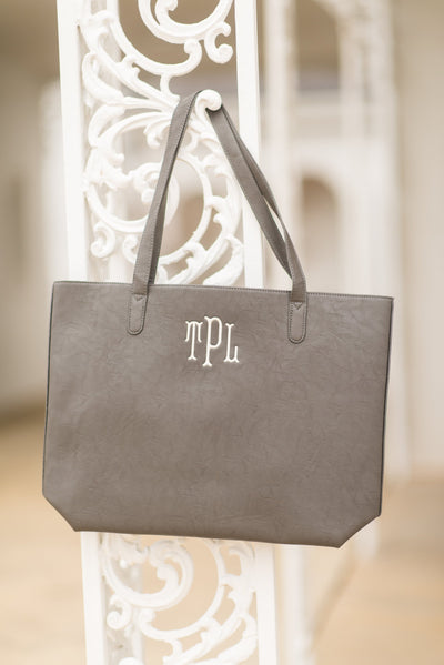 Simply Chic Tote, Gray