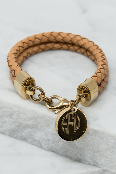 Places To Go Bracelet, Tan