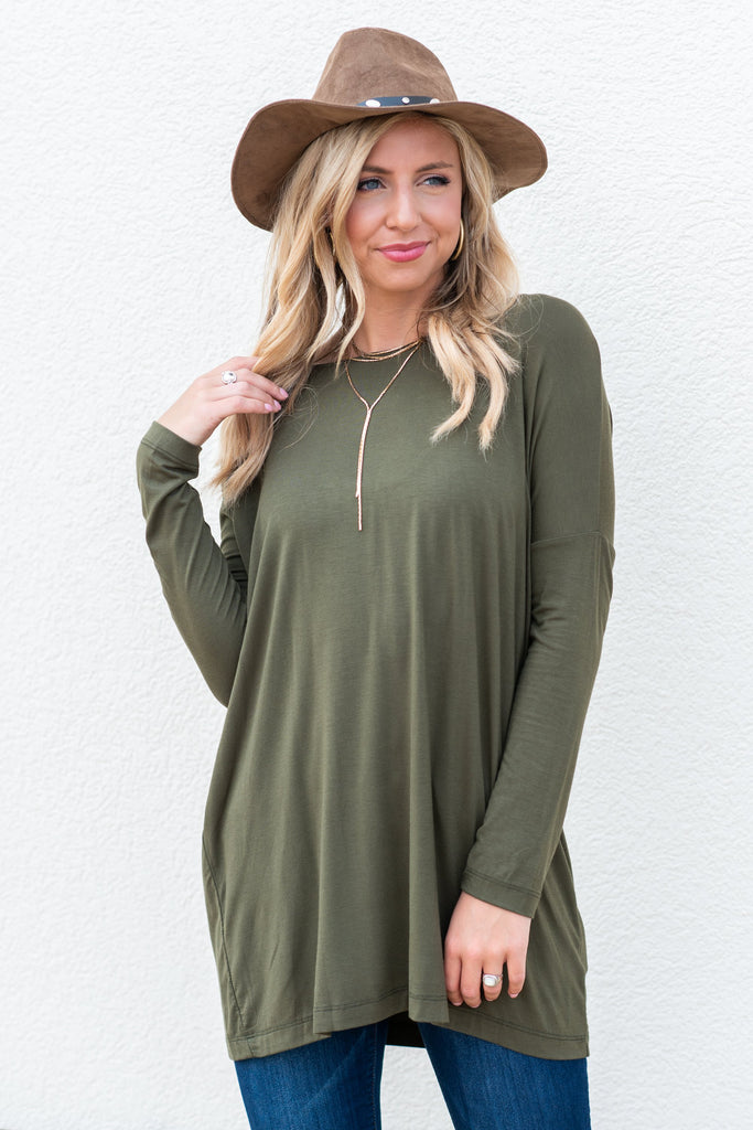 All You'll Need Tunic, Olive
