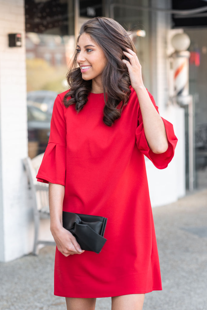 Beauty Personified Dress, Red