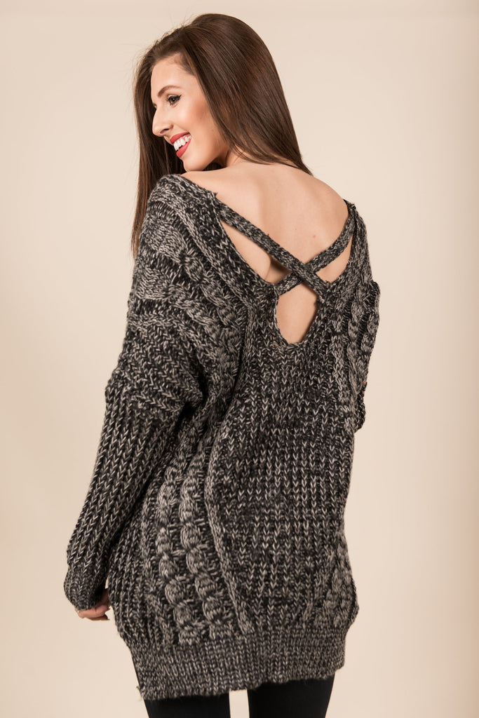 Warm With You Sweater, Black