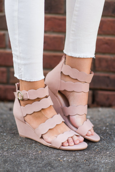 You're So Sweet Wedges, Blush