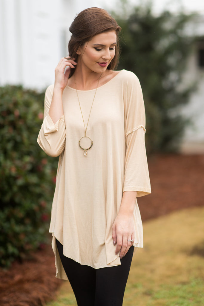 Big Dreams Tunic, Honey Gold