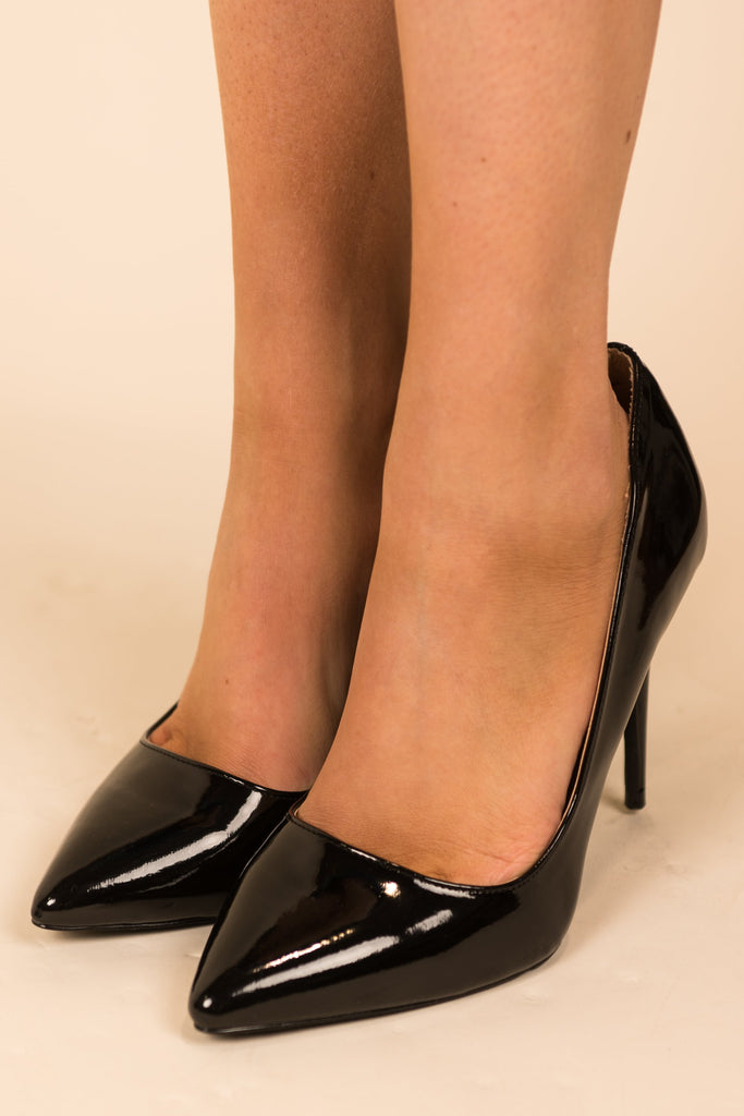 Black Tie Affair Pumps, Black