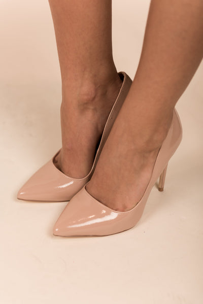 Black Tie Affair Pumps, Nude