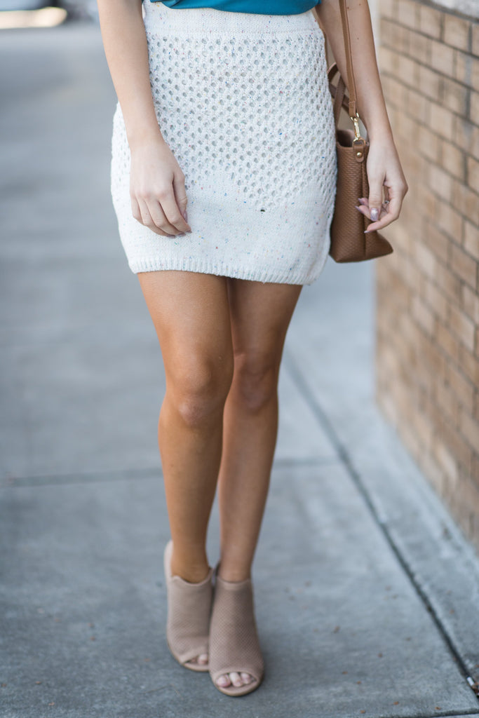 Power Of Perfection Skirt, Cream