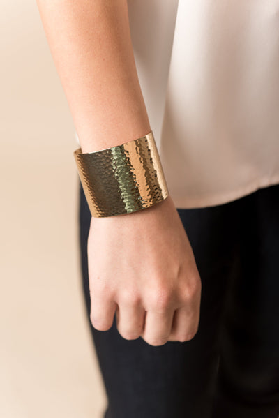 Deep In Day Dreams Cuff Bracelet, Gold