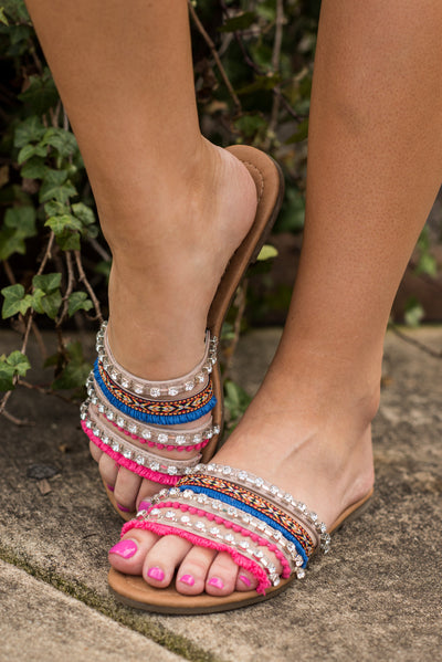 Wild And Free Sandals, Multi