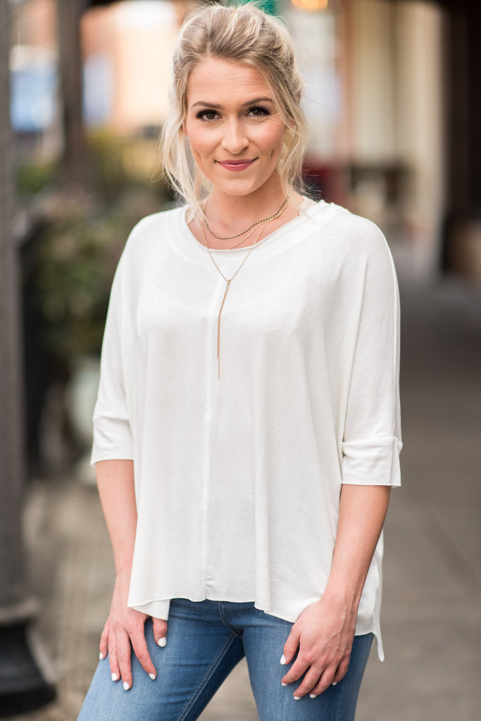 The Anytime Top, Ivory