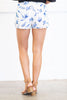Fun In Feathers Shorts, White
