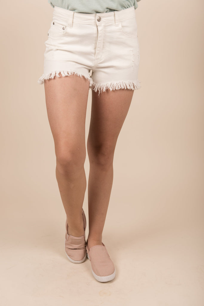 Soak Up The Sun Shorts, Ivory