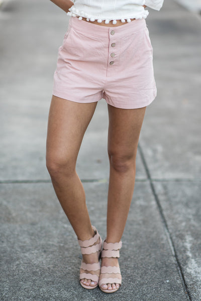 Spring Fun Shorts, Blush