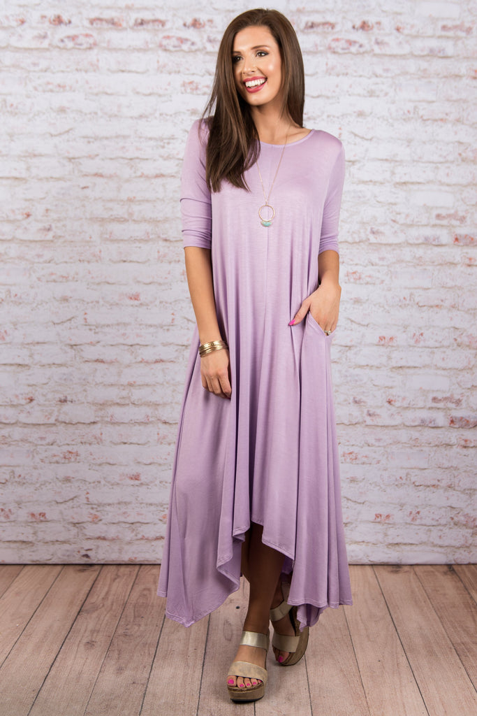 You've Got My Love Maxi Dress, Lavender
