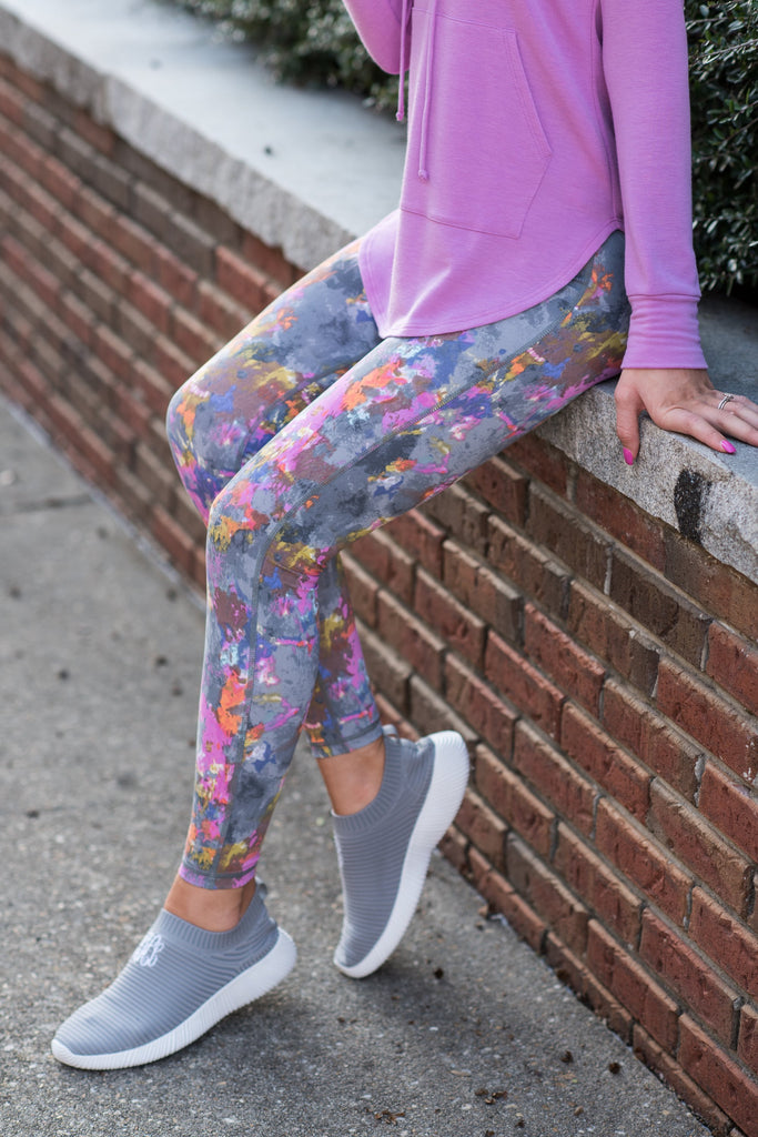 Walk For It Leggings, Gray
