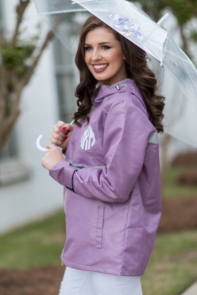 April Showers Rain Jacket, Purple