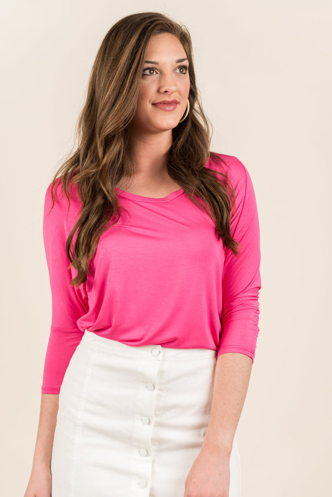 Wishful Thinking Top, Pink