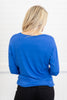 Wishful Thinking Top, Royal Blue