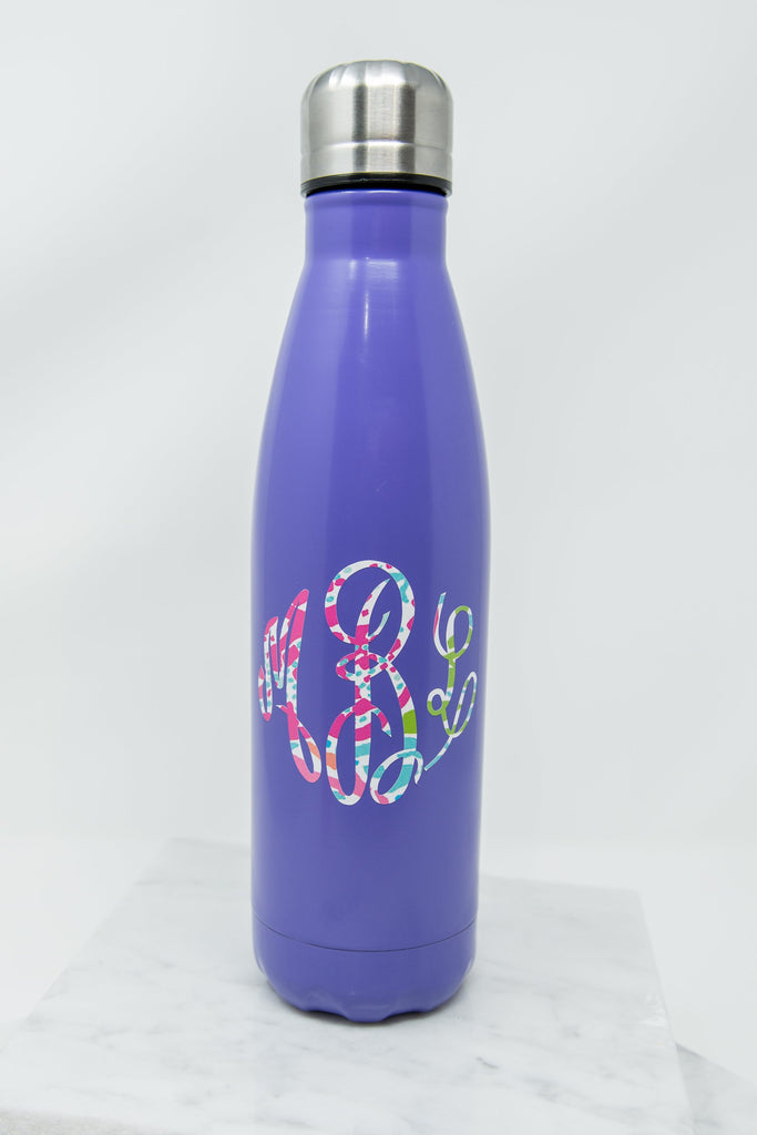 Drink Up Water Bottle, Purple