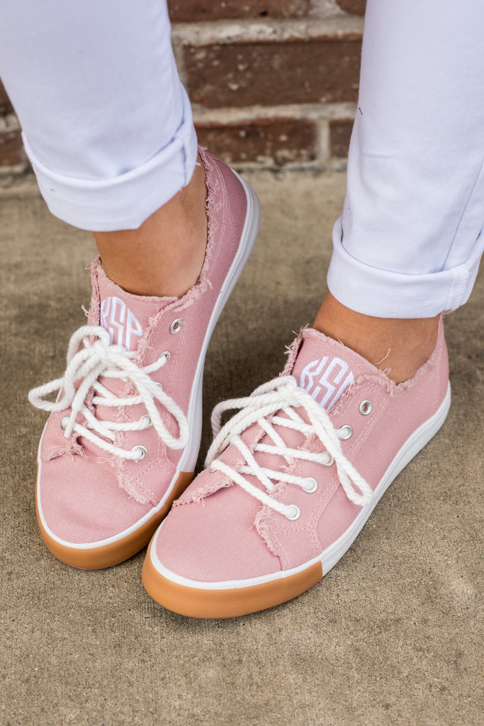 Spring Vacation Sneakers, Pink