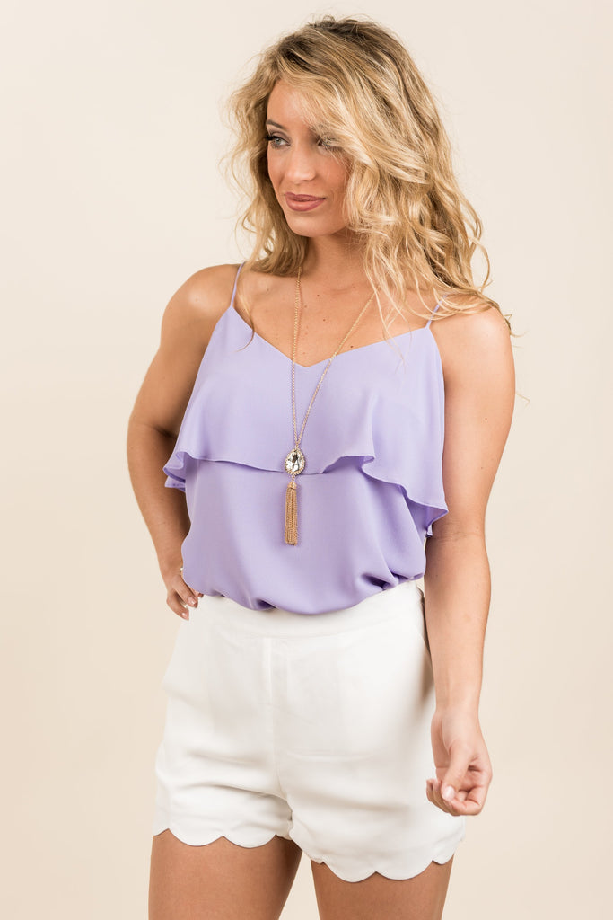Make It Lovely Tank, Lavender