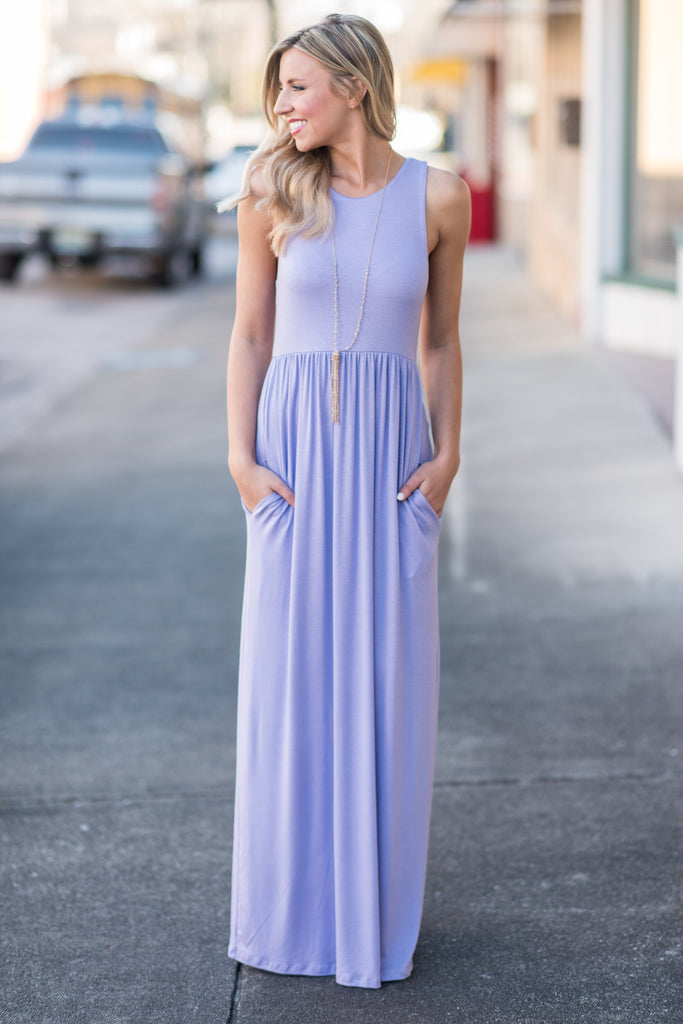 Follow My Direction Maxi Dress, Lavender