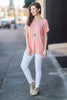 On The Go Tee, Peach