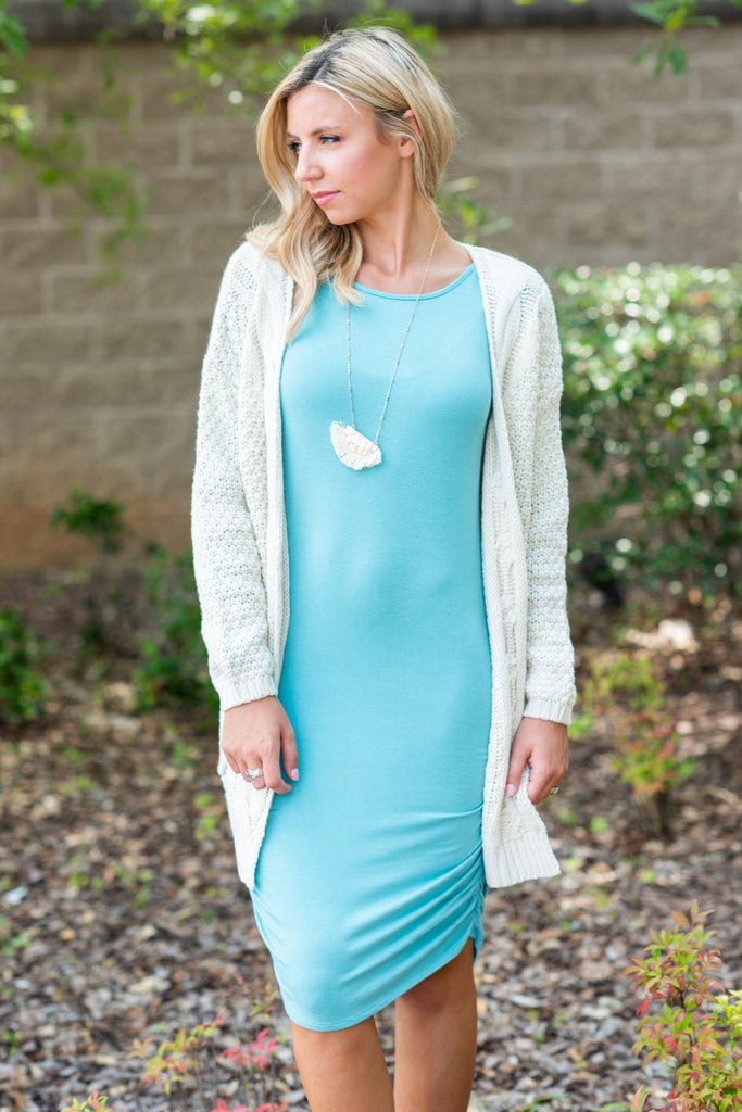 Fit To Be Fabulous Dress, Ash Mint