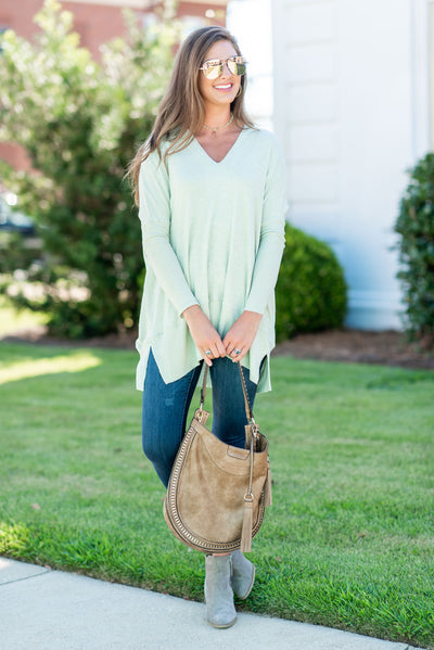Calling My Name Tunic, Green