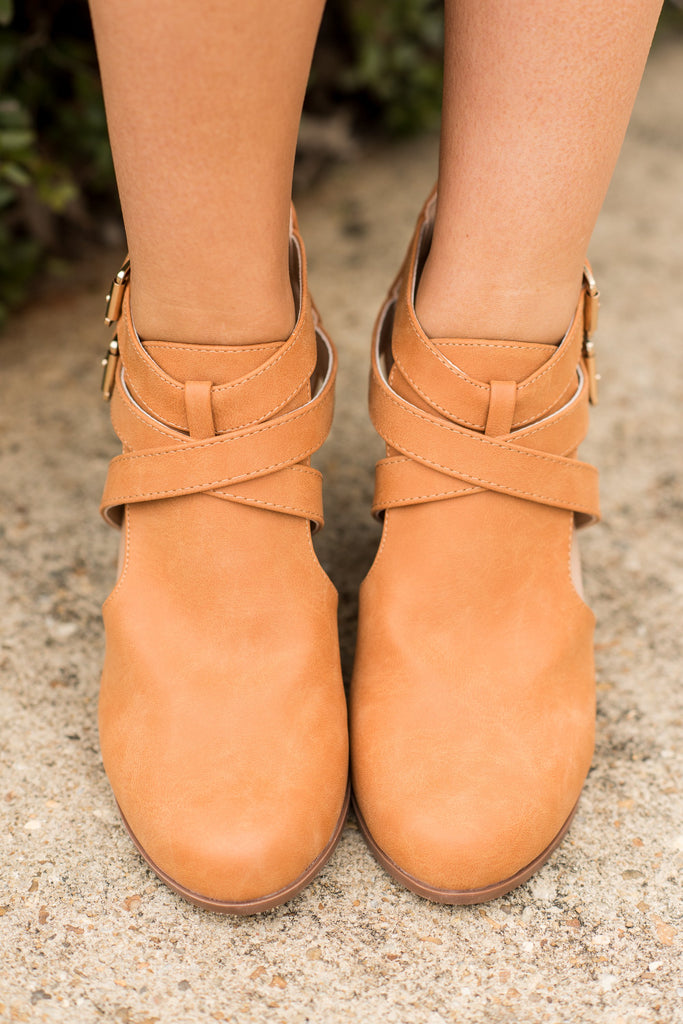Steady As She Goes Booties, Camel