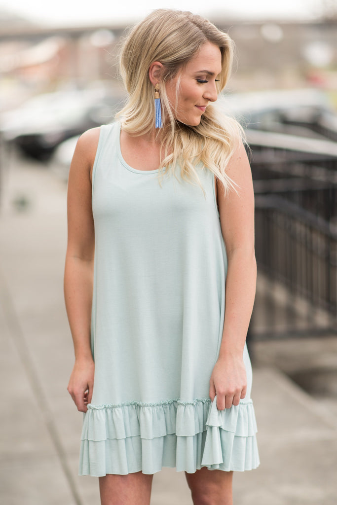 Love In Layers Dress, Sky Blue
