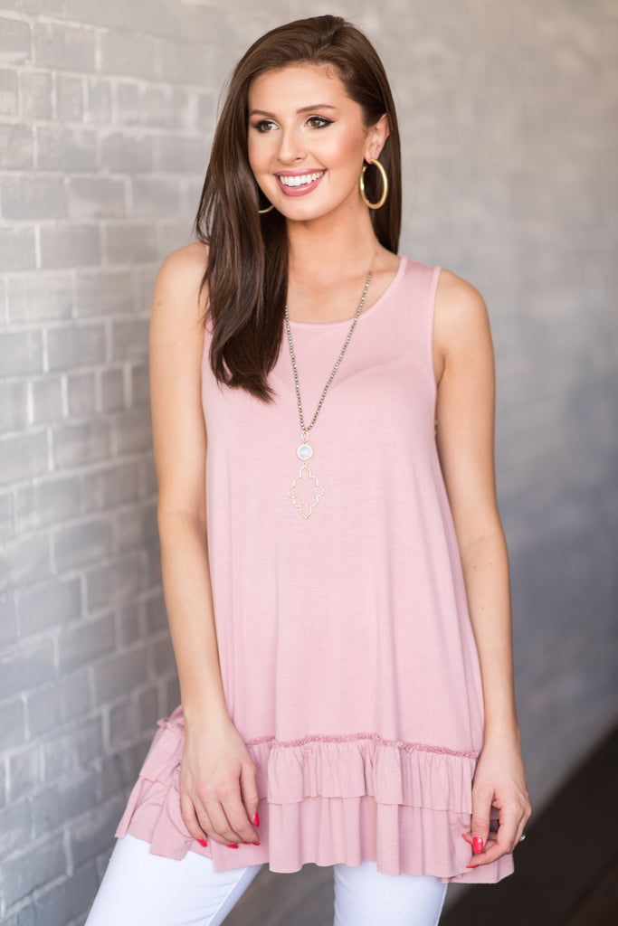 Love In Layers Dress, Rose