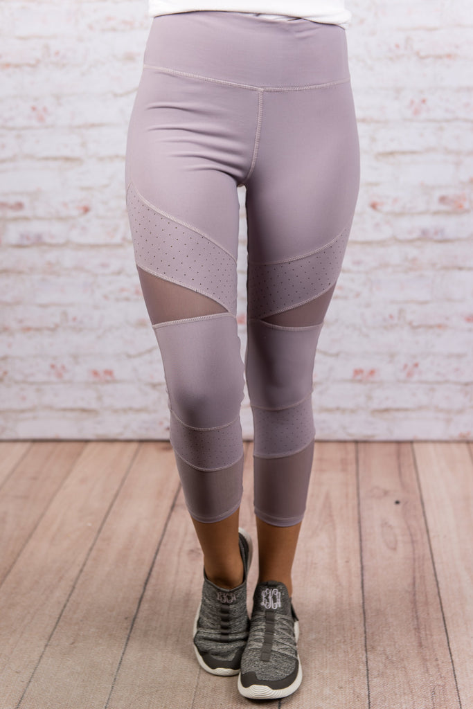 Stay In Motion Leggings, Lavender