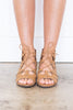Wild Ways Tan Brown Gladiator Sandals