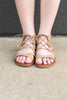 Make You Move Tan Brown Gladiator Sandals