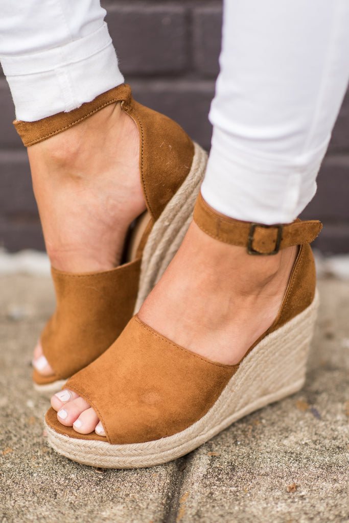 It's A Beautiful Day Wedges, Hazel