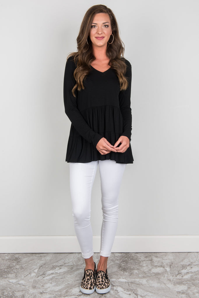 Mix And Mingle Top, Black