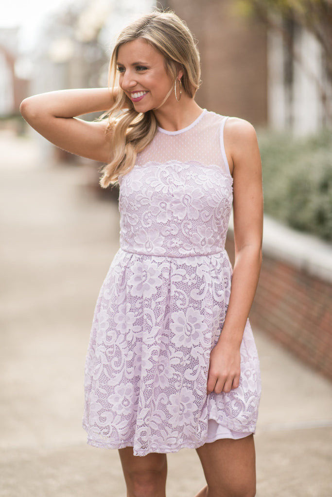 Fab Occasions Dress, Lavender