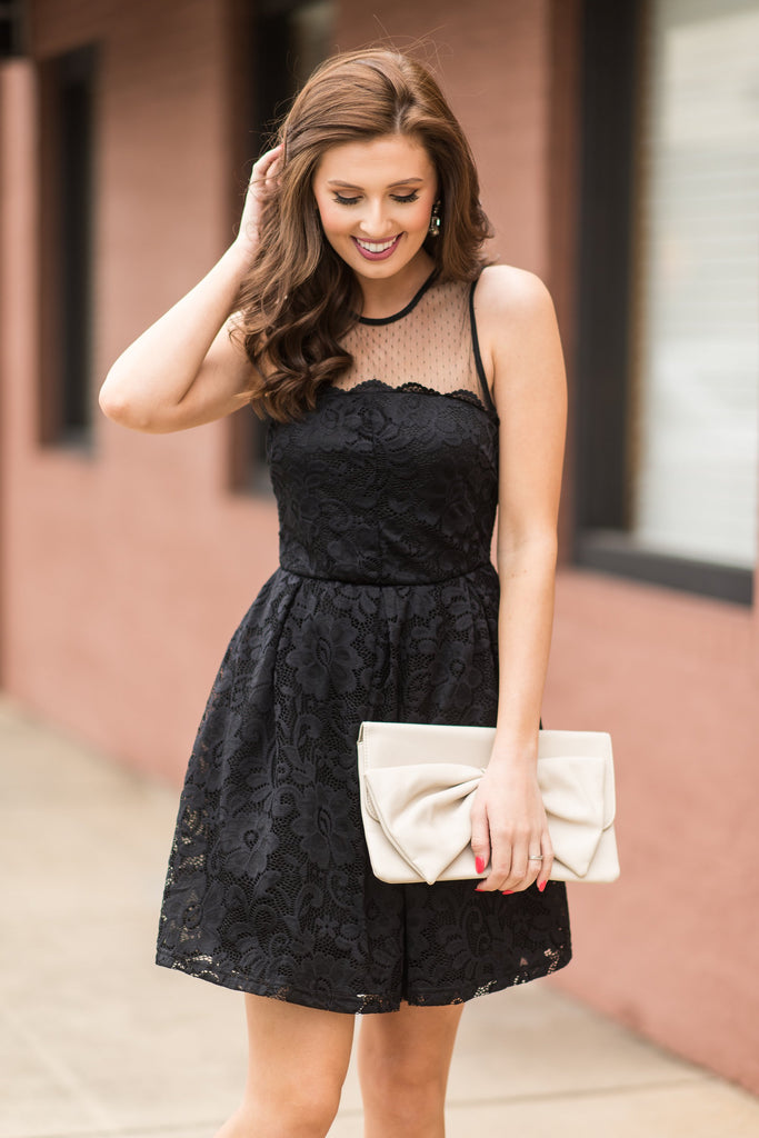 Fab Occasions Dress, Black