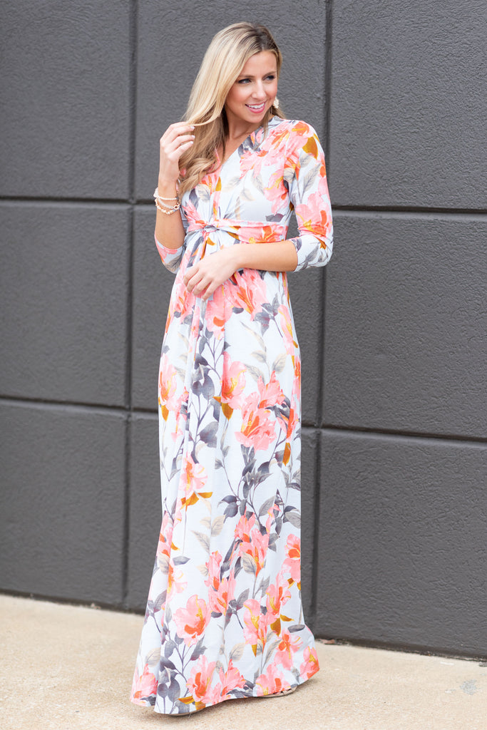 This Is The Dream Maxi Dress, Sky Blue