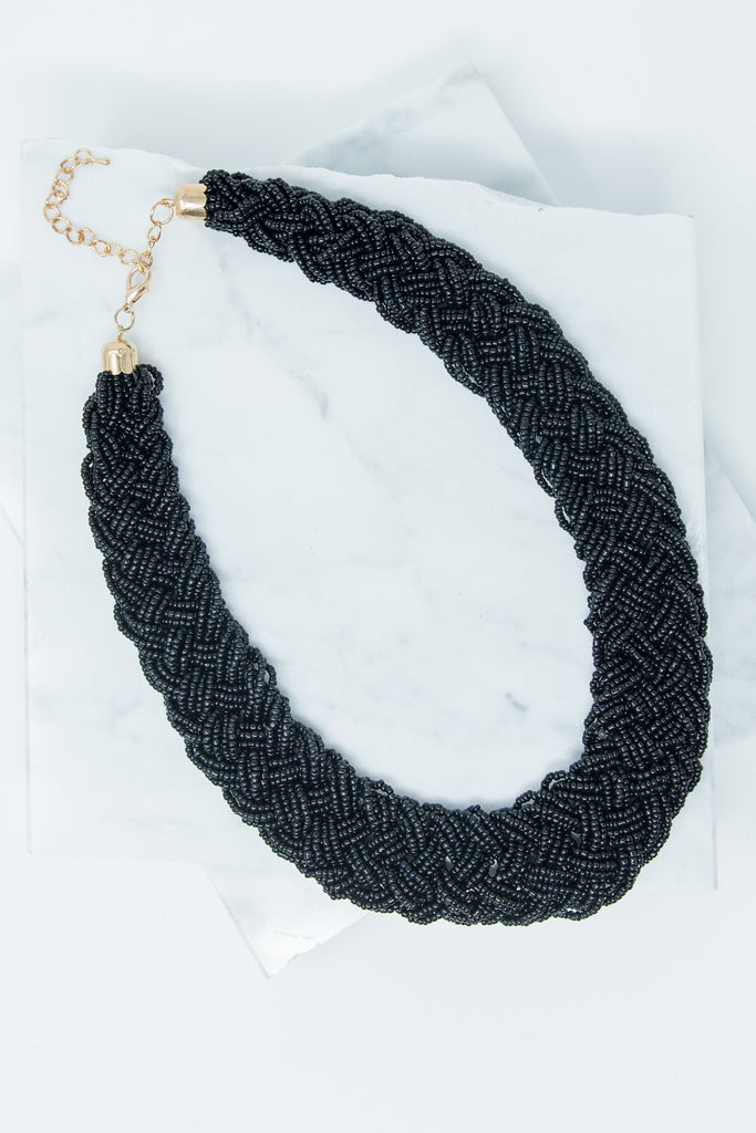 Turks And Caicos Necklace, Black