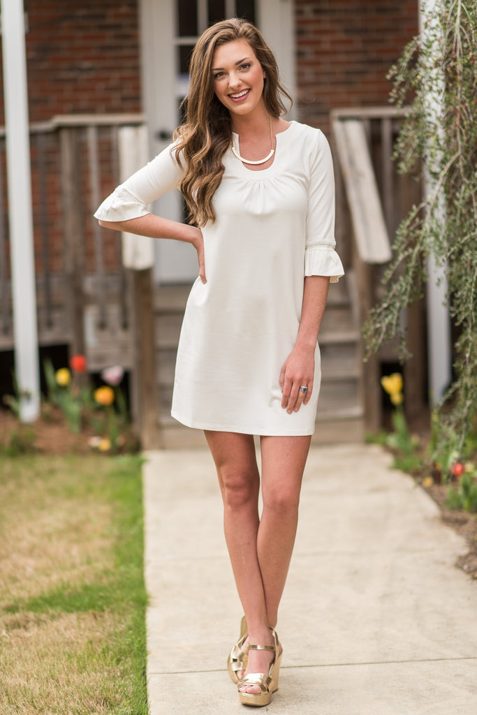 All About The Classics Dress, White