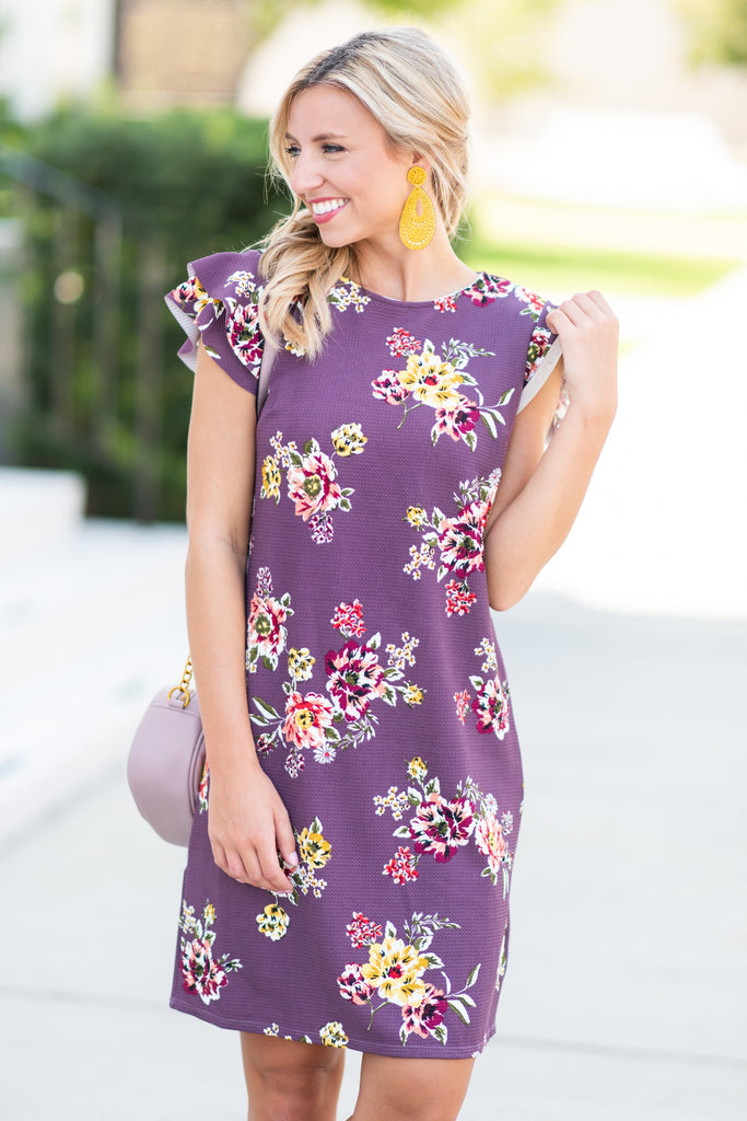 Be Blissful Dress, Orchid