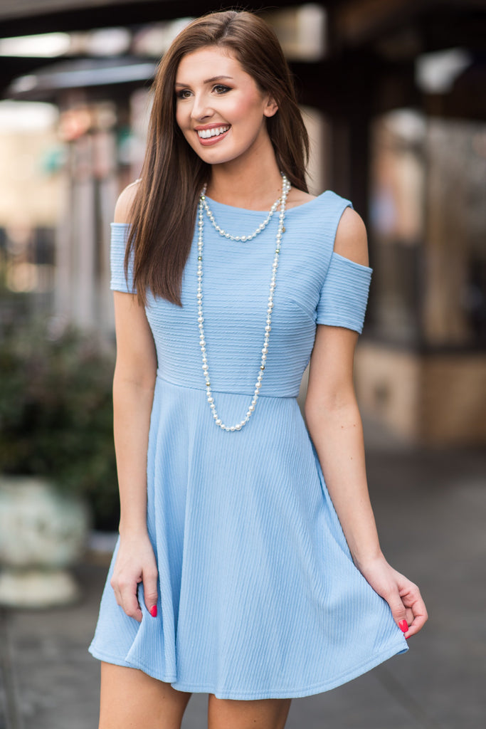 Love You Now Dress, Baby Blue