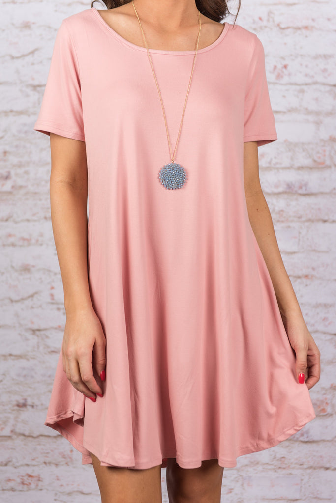 Just Can't Stop Dress, Blush