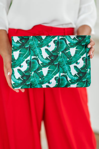 Can't Keep Palm Purse, Green
