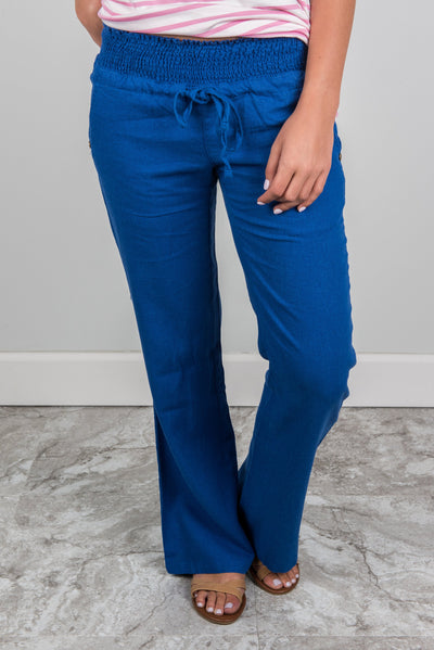 Legendary Weekends Pants, Royal Blue