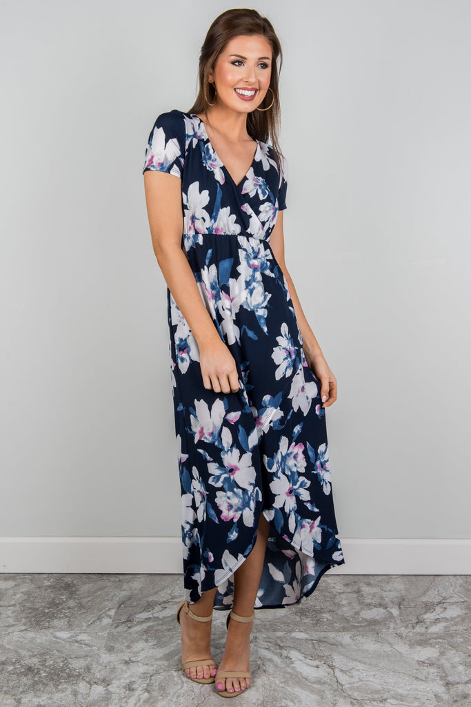 Do What You Love Maxi Dress, Navy